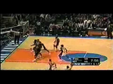 Allen Iverson Highlight 76ers vs Knicks 00/01 NBA *MVP Season Opener