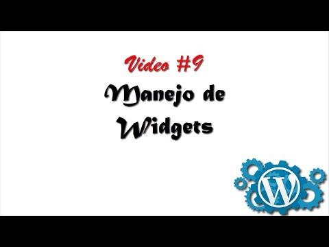 Cómo usar los Widgets de WordPress para agregar funcionalidades a tu blog/sitio web