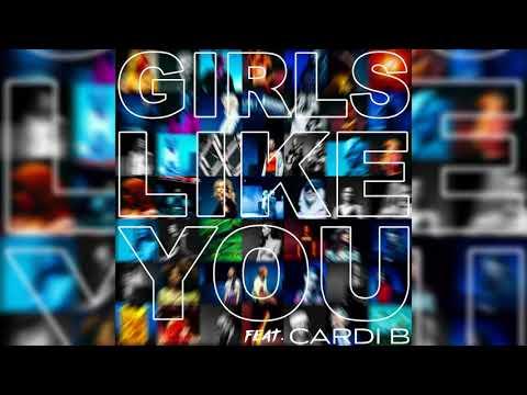 Download Lagu  Maroon 5, Cardi B - Girls Like You  Instrumental Mp3 Free