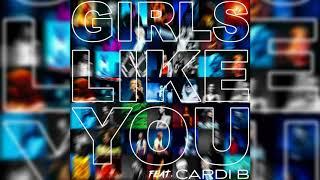 Download Lagu Maroon 5, Cardi B - Girls Like You (Official Instrumental) Gratis STAFABAND