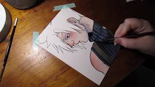 Cloud Strife- Final Fantasy VII Speedpaint