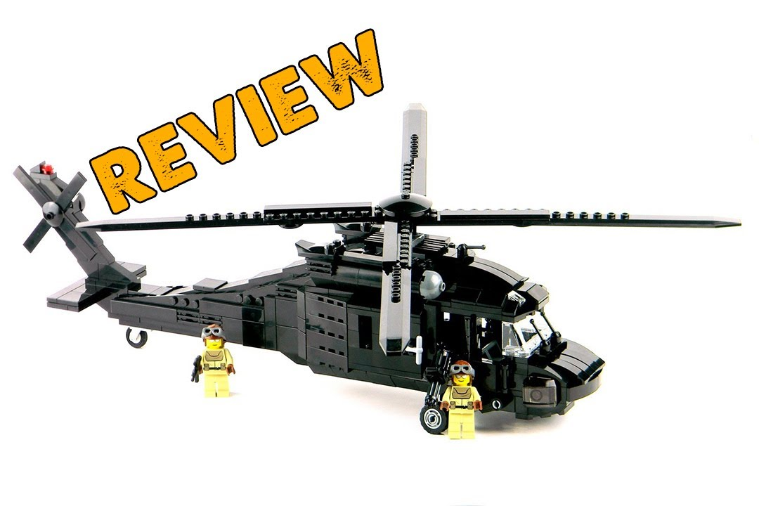 lego black hawk review - YouTube