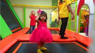 Funny Kids Indoor Playground for Toddlers Learn Color & Baby Game Show