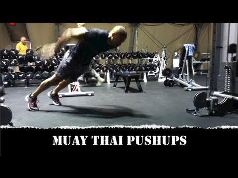 Best Bodyweight Workouts - Muay Thai Push Up Image 1