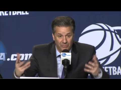 Kentucky coach John Calipari on beating West Virginia