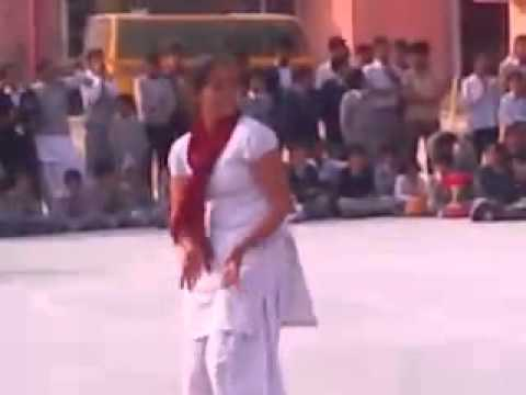 Thol jagiro da school dance in haryanvi girls