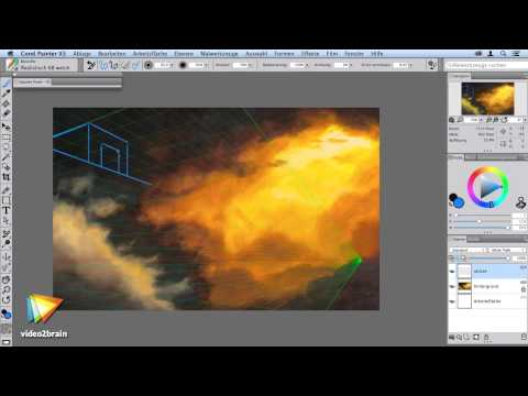 Corel Painter X3 Neuerungen Tutorial: Trailer |video2brain.com