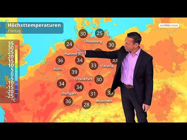 Wetter Die aktuelle Vorhersage 03.08.2018