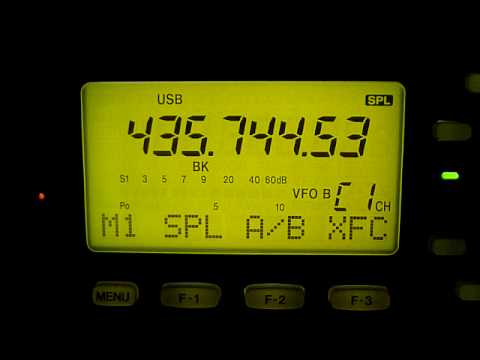 XW-1: CW transponder