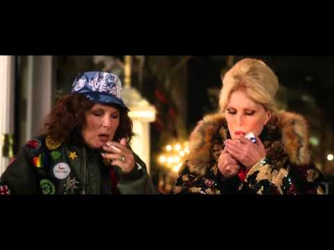 Absolutely Fabulous  The Movie Official Trailer #1 2016 -  Joanna Lumley Comedy HD