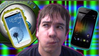 The ManDroid Show_ The Galaxy S III or the Galaxy Nexus. Which one would you pick?