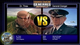 C&C Generals Zero Hour Challenge Toxin 06: Dr. Thrax x Gen. Granger [HARD]