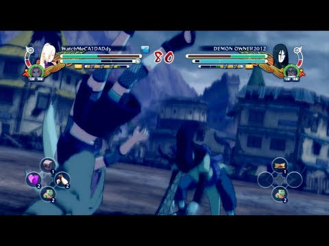 -Snake Power- Naruto Shippuden: Ultimate Ninja Storm 3 - Online Ranked
