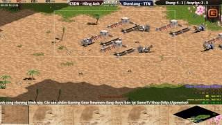 2vs2 Assyrian Chim Sẻ Đi Nắng, Hồng Anh vs ShenLong, Tiểu Thủy Ngư Ngày 19 01 2017 Trận 6