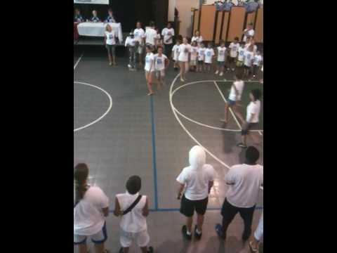 1 of 3 - Clearwater Academy International 2009 Color WAR Song Competition - Intro and White Team