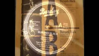 Burundi Black - Maxi Single Vinyl