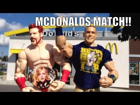 GTS WRESTLING: Night of Champions PARODY! WWE Mattel figure matches animation event!