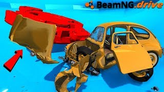 BeamNG Drive with a super sonic spinner