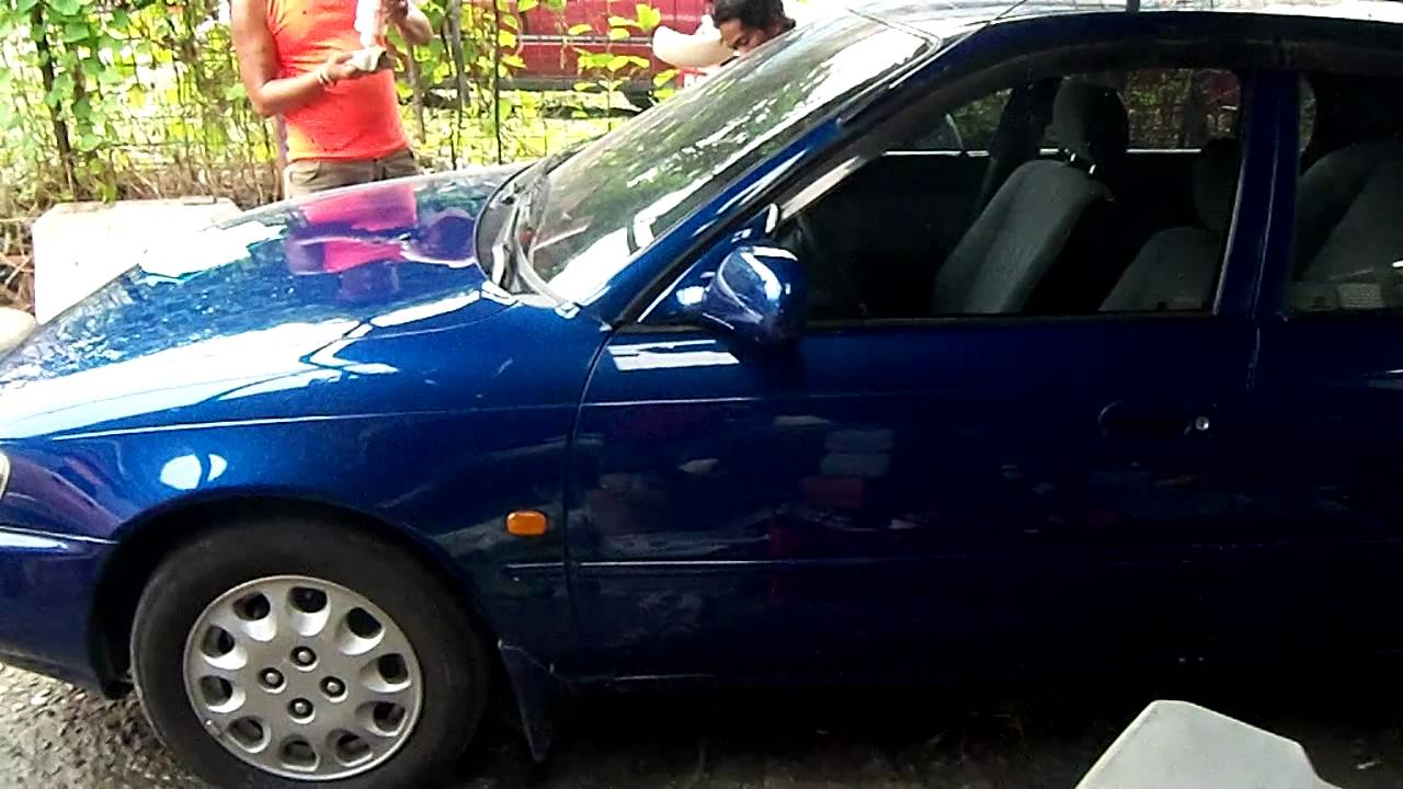 1996 Toyota Corolla Painting Job After 6 Months Youtube
