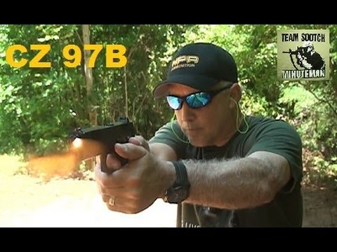 The CZ 97B 45 ACP Pistol Rocks!