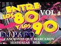 MIX POP EN ESPAÑOL 8Os   (AUDIO HD) EXITOS!!! DJ PAPO FRANCISCO MENDOZA