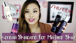 "High-End & Affordable Asian Skincare for ""Mature"" Skin 