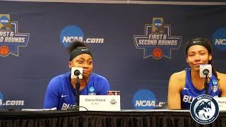 Buffalo Women's Basketball NCAA Tournament 2nd Round Postgame (Players)