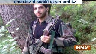 LIVE Encounter of Burhan Wani Who is the Hizbul Mujahideen Commander