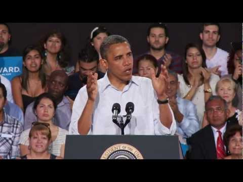 President Obama's Remarks from Kissimmee, Florida