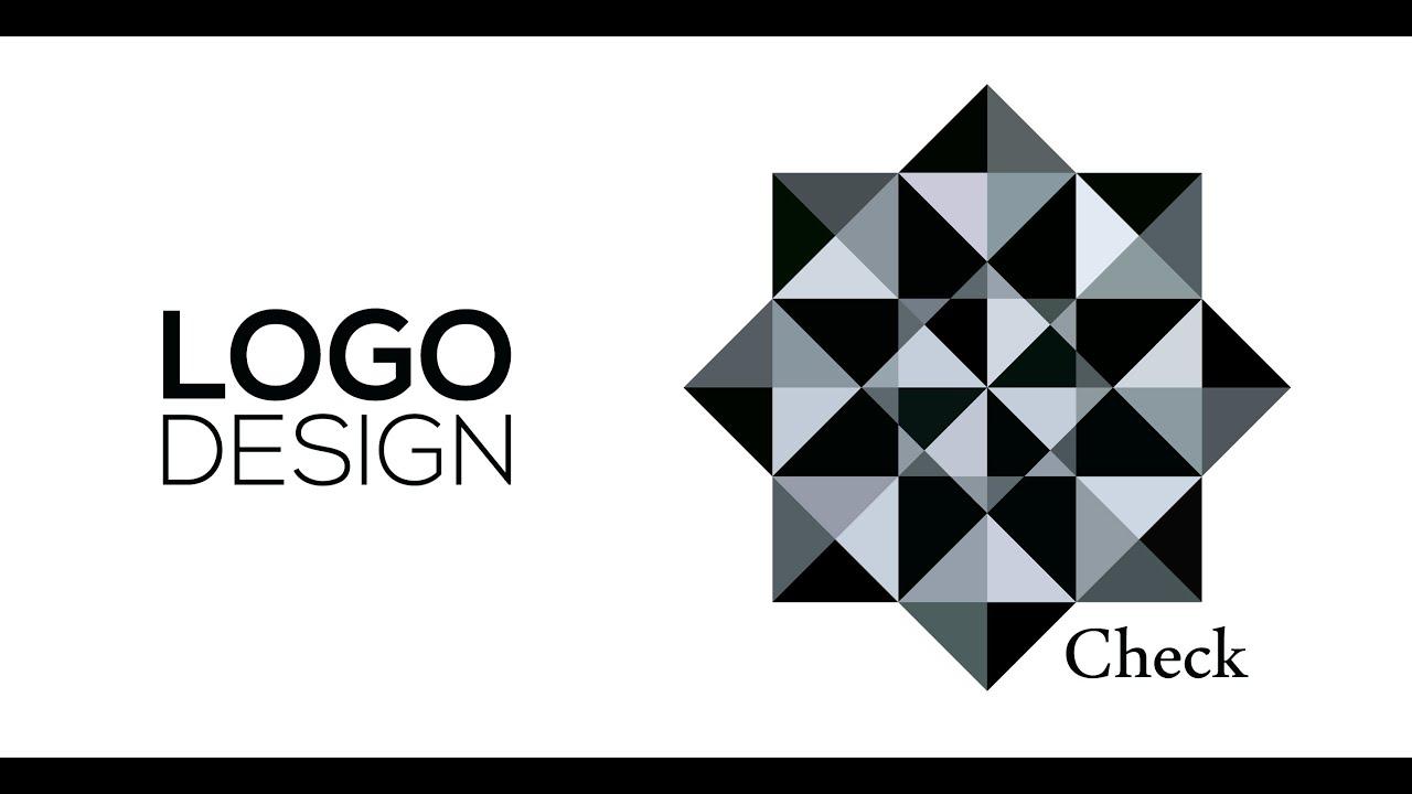 Professional Logo Design - Adobe Illustrator cs6 (Check) - YouTube
