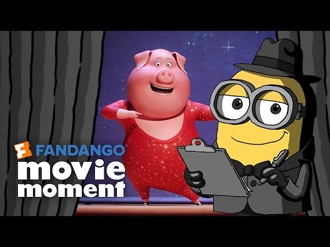 Minions At the Movies React to Sing - Fandango Movie Moment (2016)