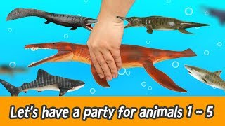 [FULL]  Let's have a party for animals 1~5, animals names for children, happy 26minㅣCoCosToy