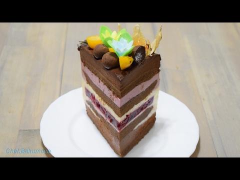Рецепт муссового торта пошагово в домашних условиях
