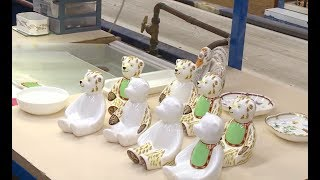 Pottery firms prepare to celebrate Royal Baby | ITV News