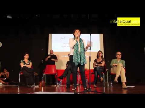 Ada Colau en la presentació de Guanyem Barcelona