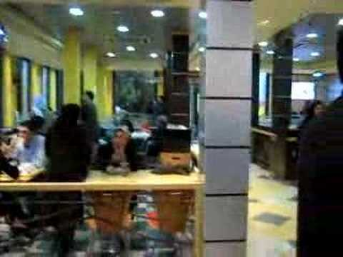 Fast food outlet in Tehran