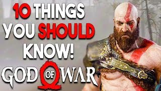 GOD OF WAR PS4 - 10 HUGE Things You Should Know Before You BUY (PS4 2018)