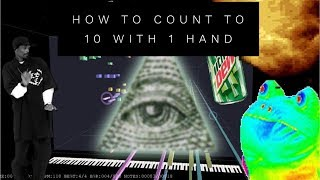 How to Count to 10 With 1 Hand [Greatest Magic Trick]😱