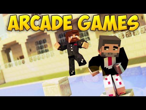 ГОНКА В БАССЕИНЕ - Minecraft Arcade Games