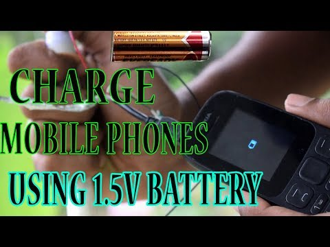 How to Charge mobile using 1.5v Batteries 💥🔥   Malayalam   Jibin Tech Vlogger