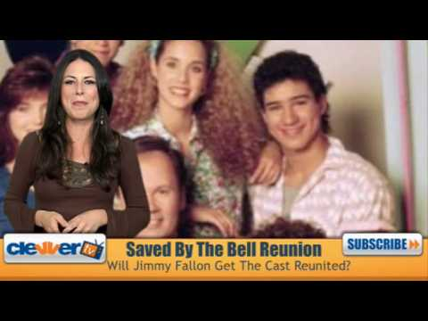 Jimmy Fallon Reunites Saved By The Bell Cast Video