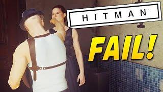 ELUSIVE TARGETS FAIL! | HITMAN 2016 |