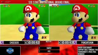 CLG Cheese05 vs Puncayshun | Grand-Final | GSA 120 Star Invitational 2018 | Super Mario 64