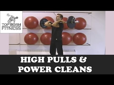 High Pulls and Power Cleans for Explosive Strength Image 1