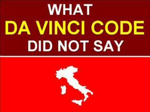 What the DA VINCI CODE did not say (OF ITALY)