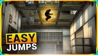 10 CS:GO EASY JUMPS