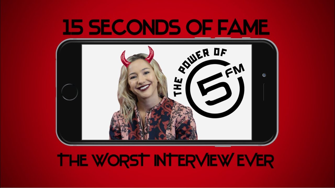 15 Seconds of Fame 15 Seconds of Fame The Worst