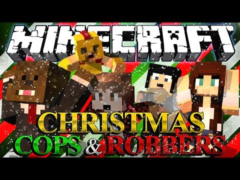 KILLING SANTA Christmas Mod Minecraft Cops and Robbers w BajanCanadian and Friends