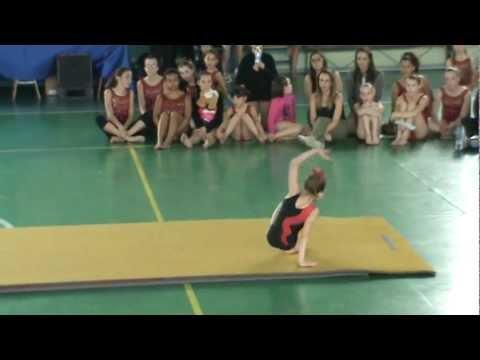 Erica ughetta gara corp. lib. 5° livello giovanissime 1° posto nella sua età 7 anni