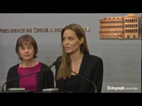 Angelina Jolie thanks Lebanon for assisting Syrian refugees
